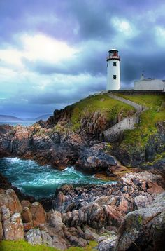 .~Fanad Lighthouse, Donegal, Ireland~. @adeleburgess