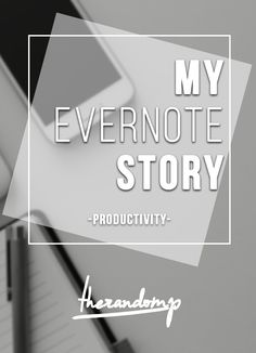How I was looking for to-do list and found Evernote: http://therandomp.com/blog/2015/7/3/how-i-was-looking-for-to-do-list-and-found-evernote
