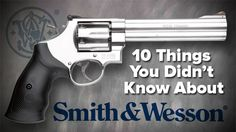 guns ammo 10 Things You Didnt Know About Smith & Wesson Smith And Wesson Revolvers, Smith N Wesson, Marcel, Love To Shop, Guns And Ammo, Concealed Carry, Self Defense, Girls Be Like, Firearms