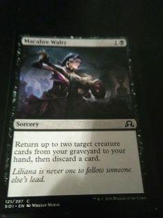 Magic The Gathering: Shadows Over Innstead: Macabre Waltz: Sorcery #WizardsoftheCoast