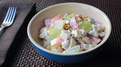 Learn how to make a Waldorf Salad! Go to http://foodwishes.blogspot.com/2015/10/a-waldorf-salad-by-any-other-name.html for the ingredient amounts, more infor...