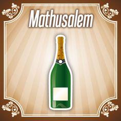 Bouteille Mathusalem
