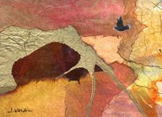 "Gold Arch, Collage 4.25 X 5.5  I added ""joyfulartistblog"" to an #inlinkz linkup!http://joyfulartistblog.blogspot.com"