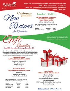 December 2014 Customer Promotion!