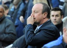 Rafa Benitez made six changes from the team that beat Leeds United in the league last week