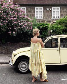 Zimmerman // Blog Love: Jessie Bush from We The People Style blog wears the Lumino Floating Stripe Dress