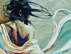"""Saatchi Online Artist: Colin Staples Life Art; Acrylic 2013 Painting """"Looking Back"""""""