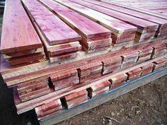 """Aromatic Red Cedar Board @1/2"""" x 10"""" x 36"""" – Woodchucks Wood Red Cedar, Red Oak, White Oak, Amish Family, Cedar Lumber, Cedar Boards, Birdseye Maple, Spalted Maple, Kiln Dried Wood"""
