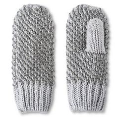 Cold Weather Mittens Grey- Merona®
