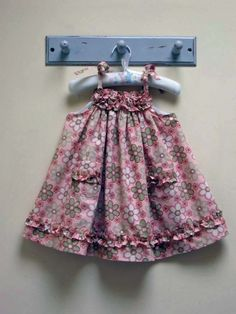 Children's Sewing Pattern. Baby and Toddler Dress Pattern.