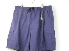 JOCKEY Men's Swimwear Trunks Swimsuit Size XL New w/ Tag Purple Nylon 3 Pockets #Jockey #Trunks