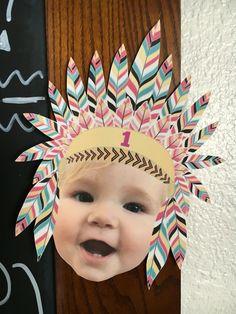 Birthday. Pow wow. Wild one. First birthday. Headdress. Party. Boho. Tribal. Bohemian.