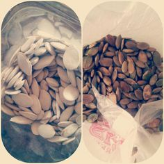 Eat these! Pumpkin seeds...pepitas, whoa the benefits! To name a few: Natural anti-inflammatory. Help lower bad LDL cholesterol and increase the good HDL. A quick source of protein and B vitamins. Laden with minerals copper, zinc, magnesium, calcium, and then some...hello skin food! Antioxidant, cancer fighter. Reducer of anxiety and depression. These little guys sure are special, the list goes on. Happy Halloween; get your carve on!