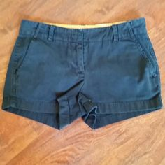 J Crew Navy Chino Size 2 Great condition J. Crew Shorts