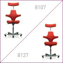 Sit Stand Seating Hag Capisco Chairs Choice Of Saddle Seat 8106 8107 Or Traditional But Shorter Seat Cushio Capisco Chair Adjustable Height Desk Seating