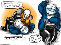 a request from busyrobothands! they wanted pap tickling sans until he pees himself…. Undertale Game, Undertale Fanart, Sans And Papyrus, Tumblr, Jpg, Best Games, Nerdy, Fan Art, Funny
