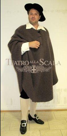 Paolo Orecchia, costumi di Jean-Pierre Ponnelle, regia di Jean-Pierre Ponnelle ripresa da Lorenza Cantini, Teatro alla Scala, Milano, 2010.