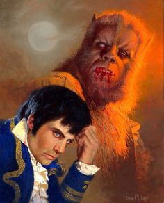 """Oliver Reed in """"The Curse of the Werewolf"""""""