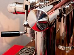 Check out the beautiful details on the La Dorio Lineare... one of the first post war espresso machines out of Italy (1945). #espressomachine #history #italy #espresso #ladorio http://ift.tt/1VbgBi2