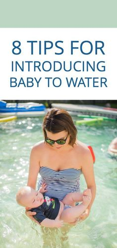 8 tips for introducing baby to water #trainingfor2032 #ad
