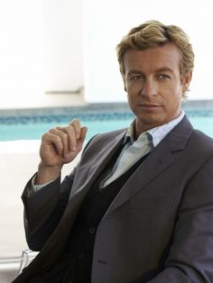 Simon Baker in his 3 piece suite minus tie. ;-)