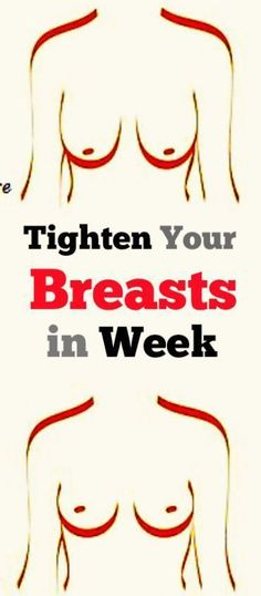 Tighten Your Breasts in Week with This Home Remedy - #health #breasts #Fitness #beauty