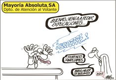 La atención al votante del PP, similar a atención al cliente de cualquier empresa. Viñeta: Forges - 16 JUL 2013 | Opinión | EL PAÍS