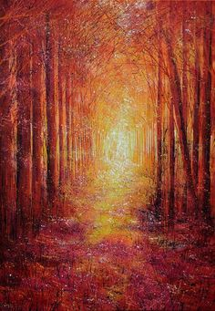 Share this to secure 10% off your next order with PAINTED! The Path Ahead..., 2014 Acrylic painting by Marc Todd #http://uk.pinterest.com/paintedorguk/