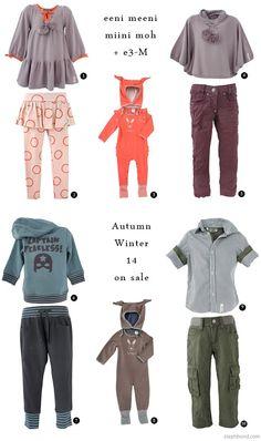 Bondville: eeni meeni miini moh + e3-M Autumn Winter 14 End of Season Sale