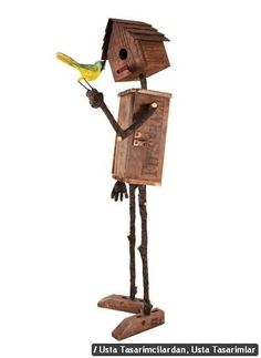 Wood Bird House More #birdhouses #birdhousetips