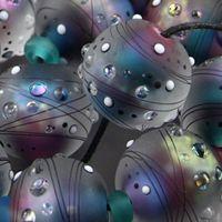 Magma Beads Moon Light Handmade Lampwork Beads | eBay
