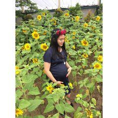 Sunflower | maternity photos | inspirasi foto hamil