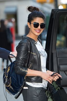 Actress Priyanka Chopra is seen in Midtown on May 16 2016 in New York City