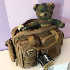 The perfect blend of cute and badass. Tactical Baby Gear bags and accessories. http://tbg.social/a/SbeBFSF7