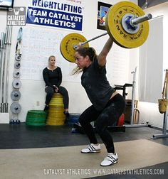 Olympic Weightlifting Workouts & Training Programs - Catalyst Athletics & Greg Everett