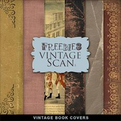 Freebies Vintage Book Covers