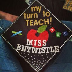 Decorated my graduation cap! Teacher life