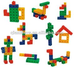 Discover thousands of images about Plastic Educational Block Toy Snap Cubes Kindergarten Learning, Kindergarten Crafts, Fun Learning, Preschool Activities, Cube Pattern, Pattern Blocks, Motor Activities, Toddler Activities, Cube Games