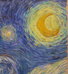 Starry Night - up close