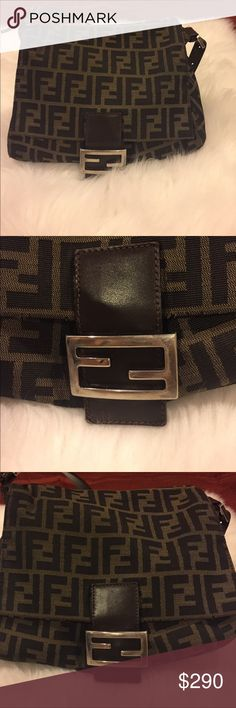 AUTHENTIC Vintage Fendi 100% AUTHENTIC Vintage Fendi bag. Has minor noticeable wear and tears but is in excellent condition given its age. No date code as this bag was purchased in the 90s. Has been sitting in my closet for years and needs a new home. Original dust bag not included but can include a different one. additional pictures will be added Fendi Bags Shoulder Bags