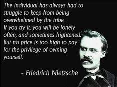 Nietzsche or Kipling or...?  Either way...