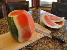 Watermelon Cutting Tutorial
