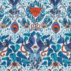 An exciting collaboration with artist Emma J Shipley presents a menagerie of coordinating fabric and wallpaper, incorporating rich velvets, luxurious satins and shimmering effects. Mystic, magical and exotic, 'Animalia' features tropical parrots, swinging lemurs, fierce tigers and delicately hand drawn giraffes.
