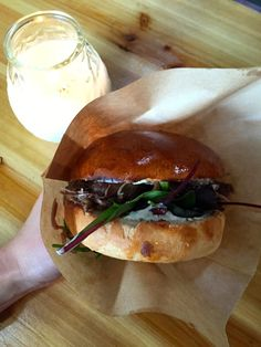 Duck confit burger from Copenhagen Street Food