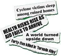 Jumbled up headlines