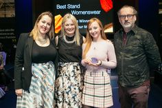 The Display Awards at Pure London celebrated the most innovative and enticing stands at the show. Picked by Stephen Hall, Visual Merchandising Expert, River Island, stands were selected on their commercial and creative merit. Congratulations to Pour Moi - Best Womenswear stand