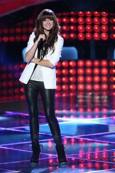 """Christina Grimmie, this girl has got this completion in the bag!!! YouTube her! Love her rendition of lil' Wayne's """"How to love""""!"""
