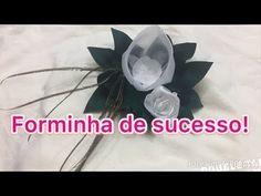 MAIS UMA FORMINHA DE DOCES DE SUCESSO! - YouTube Birthday Calendar, Ceiling Fan, Origami, Organza, Facebook, Bouquets, Youtube, Garden, Diy