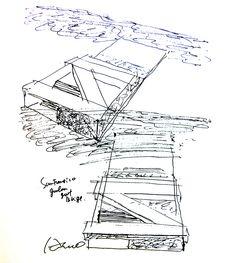 modern architecture sketch. Brilliant Sketch Tadao Ando SKETCH Architecture SketchesModern  With Modern Sketch