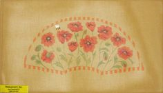 Needlepoint Poppies Canvas